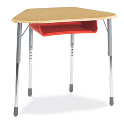 Zuma Trap Desk by Virco